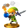 Trophée Link Cartoon alt U