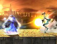 Zelda attaques Brawl 1