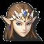 Icône Zelda blanc U