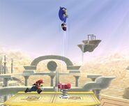 Sonic attaques Brawl 6