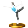 Trophée Entraîneuse Wii Fit WiiU