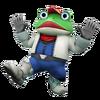 Artwork Slippy Toad Star Fox 64 3D