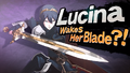Splash art Lucina SSB4