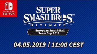 Super Smash Bros. Ultimate European Smash Ball Team Cup 2019 – Finale jour 1