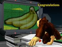 Félicitations Donkey Kong Melee Classique