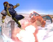 Captain Falcon Profil Brawl 4