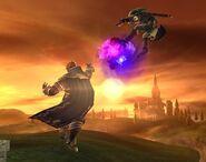 Ganondorf attaques Brawl 10