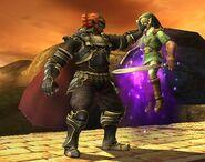 Ganondorf attaques Brawl 5