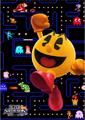 Artwork SSB4 Pac-Man