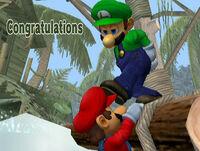 Félicitations Luigi Melee All-Star