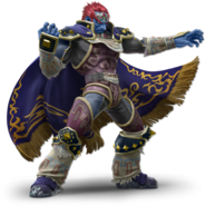 Art Ganondorf bleu Ultimate