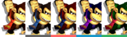 Couleurs Donkey Kong Melee