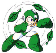 Bouclier de feuilles Megaman 2