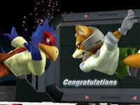 Félicitations Falco Melee Aventure