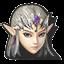 Icône Zelda noir U