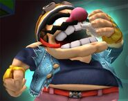 Wario Smash final Brawl 1