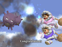 Félicitations Ice Climbers Melee Aventure