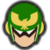 Icône Captain Falcon vert Ultimate