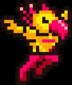 Art Flying Man Smash 4