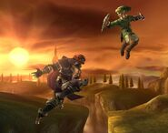 Ganondorf attaques Brawl 8