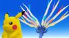 Xerneas et Pikachu SSB4