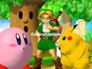 Félicitations Link enfant Melee Aventure