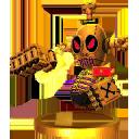 Trophée Capitaine Roboss 3DS
