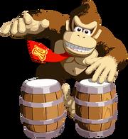 Art Donkey Kong Konga
