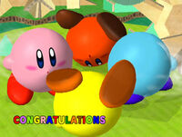 Félicitations Kirby Melee Classique