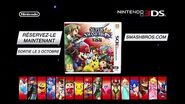 Super Smash Bros for 3DS - PUB FR 2 FRench TV COMMERCIAL 2