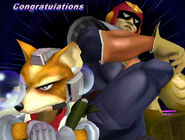 Félicitations Captain Falcon Melee All-Star