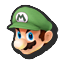Icône Mario vert U