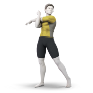 Art Entraîneur Wii Fit jaune Ultimate