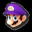 Icône Mario violet U