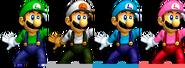 Couleurs Luigi Melee