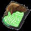 Icône Little Mac fils vert U
