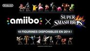 Super Smash Bros + Amiibo TRAILER eShop FR