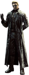 Art Albert Wesker RE5