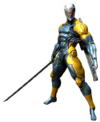 Art Gray Fox Revengeance