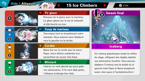 Attaques Ultimate Ice Climbers