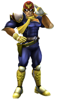 Captain Falcon Artwork SSBB