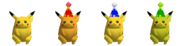 Couleurs Pikachu 64