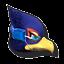 Icône Falco bleu U
