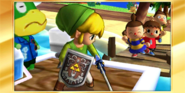 Félicitations Link Cartoon 3DS All-Star