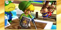 Félicitations Link Cartoon 3DS All-Star