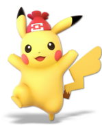 Art Pikachu femelle Ultimate