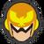 Icône Captain Falcon jaune Ultimate