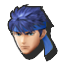 Icône Ike bleu U
