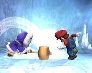 Ice Climbers attaques Brawl 1