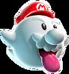 Art Mario fantôme Galaxy